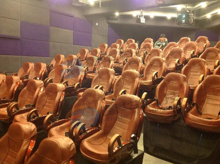 南京红山动物园4D动感影院56座