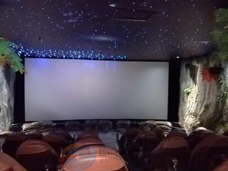 甘肃腊子口溶洞4D动感影院40座