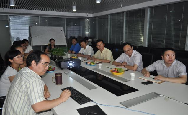 西高新管委会领导视察富华科技