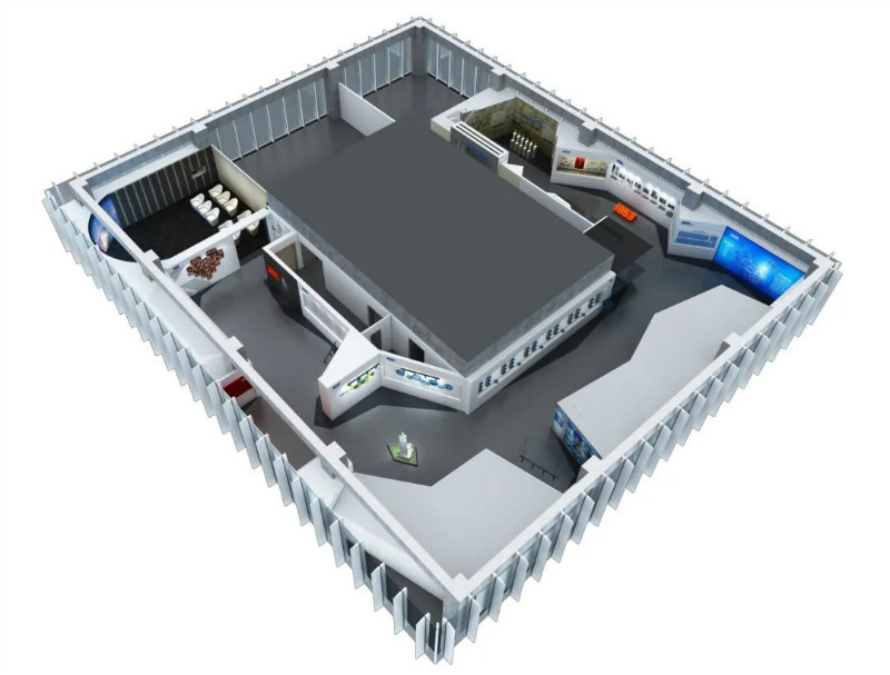 企业展厅设计-富华科技