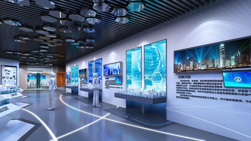 企业展厅搭建,专业的展厅设计公司都这样做