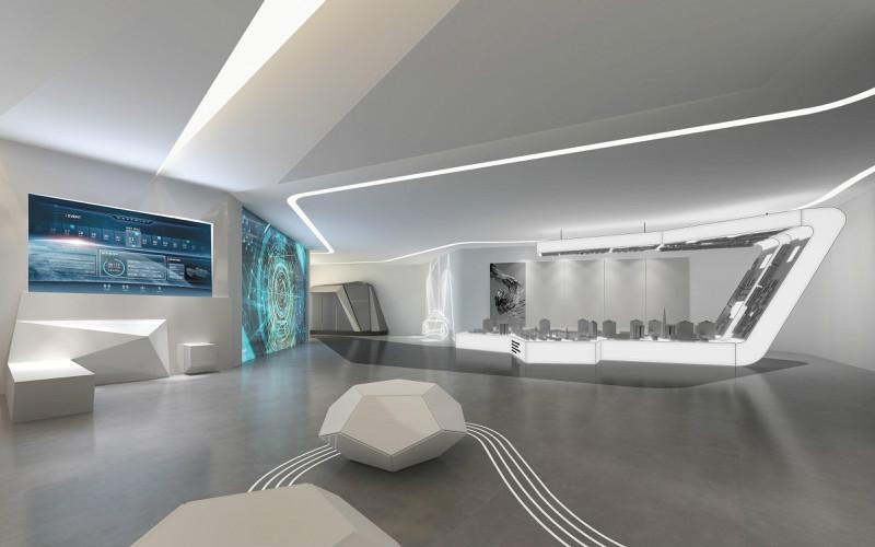 展馆展厅设计中的空间环境