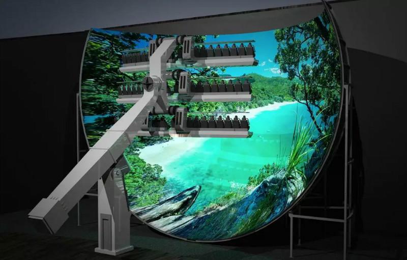 飞行影院   备受广大游客青睐的沉浸式体验影院项目