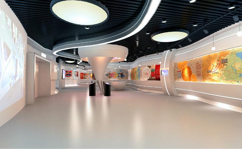 展厅设计费用/展馆设计费用-富华科技
