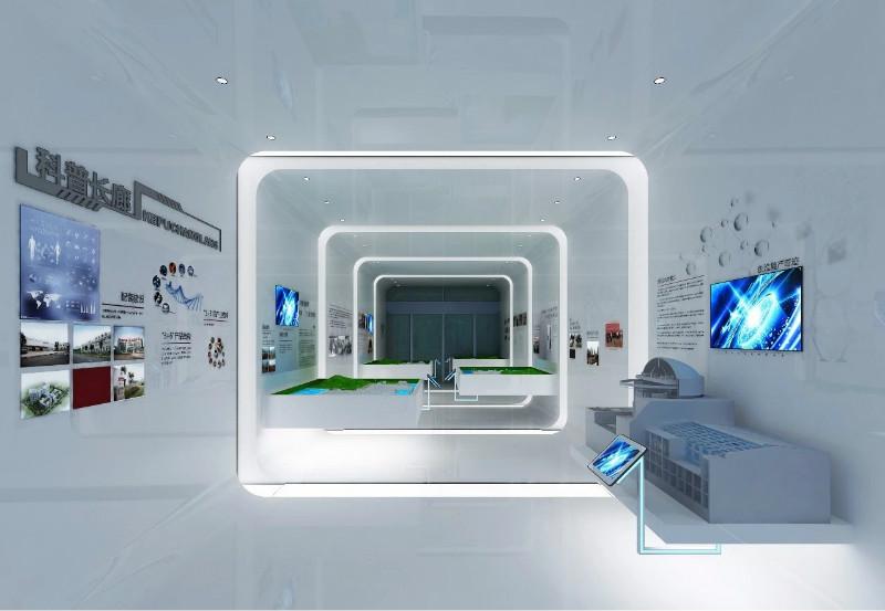 科技展厅设计该如何进行布局规划?