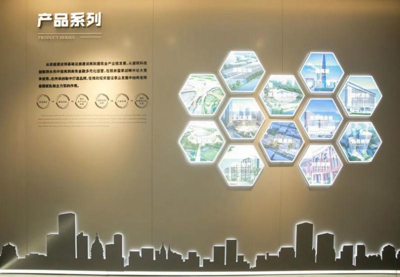 企业展厅案例分享| 中建八局华北公司文化企业展厅