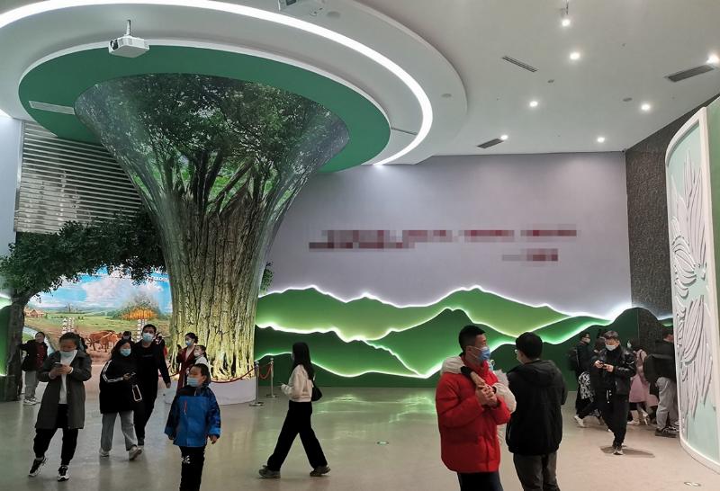 植物科普馆设计分享-太原植物园植物科普馆设计