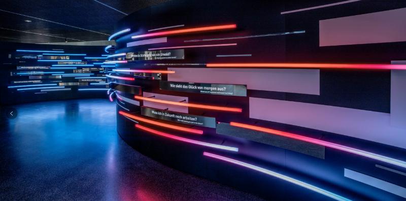 未来智慧城市数字科技体验展厅设计