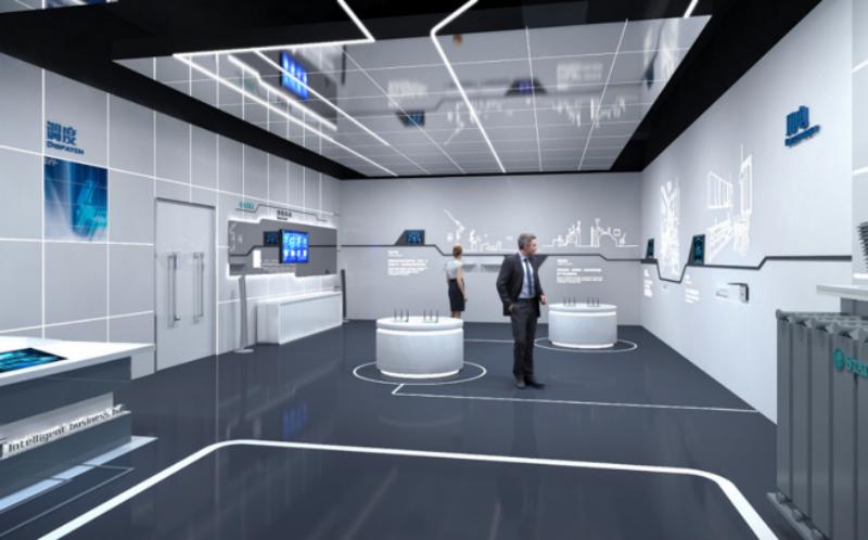 西安展厅设计公司富华科技展厅设计