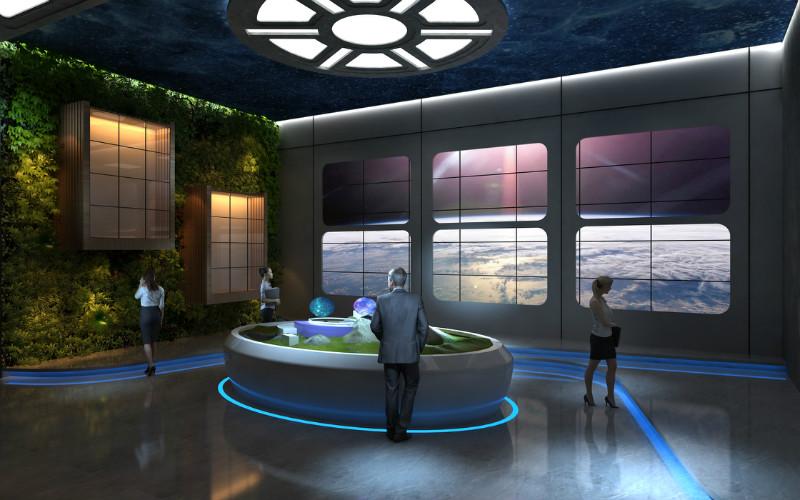 展厅设计-富华科技