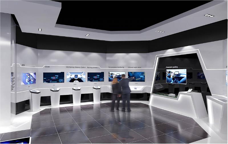 多媒体技术在企业展厅设计中的作用分析